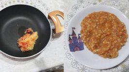 Bebekler İçin Sebzeli Kuskus Yemeği Tarifi ve Verilişi